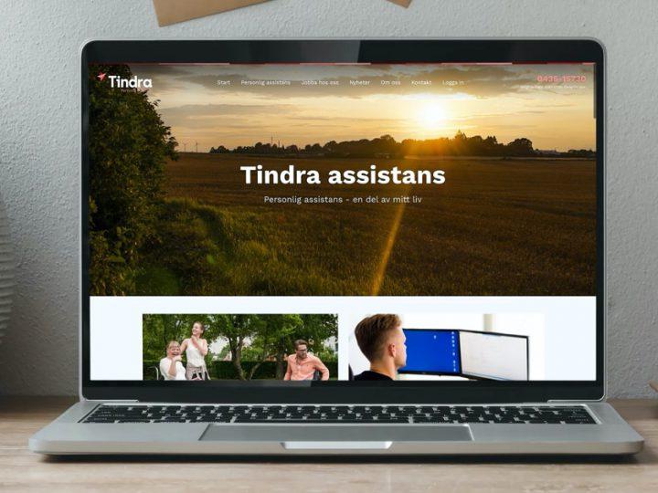 Tindra lanserar ny grafisk profil och hemsida